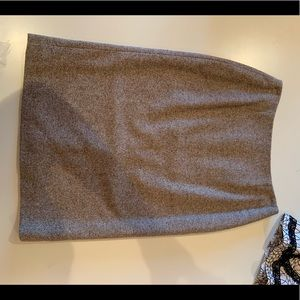 Ann Taylor Wool Pencil Skirt